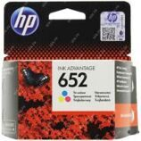Картридж ориг. HP F6V24AE (№652) трехцветный для DJ Advantage 1115/2135/3635/3835/4535/4675(200стр)