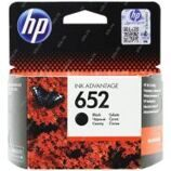 Картридж ориг. HP F6V25AE (№652) черный для DJ Advantage 1115/2135/3635/3835/4535/4675 (360стр)