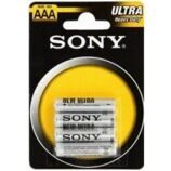 Батарейка R06 Sony new ultra (АА) BL-4 (48)