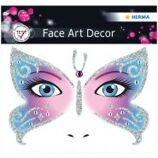 "Наклейки для лица Herma ""Face Art. Butterfly"", 12*12,7см"